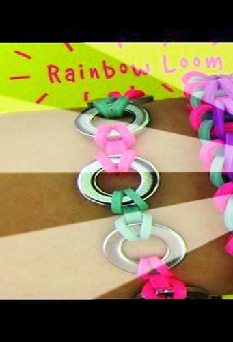 Rainbow Loom Bands bracelets
