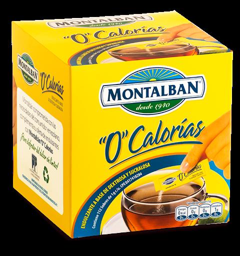 Edulcorante De Sucralosa Montalban 0 Calorias 112G Montalban