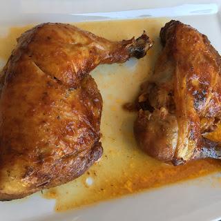 BBQ Ranch Chicken Quarters.