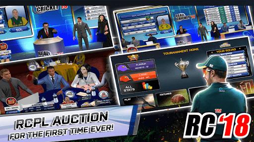 Real Cricket™ 18 Appar (APK) gratis nedladdning för Android/PC/Windows screenshot
