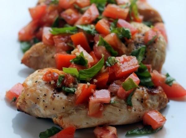 Skinny Brushetta Chicken Recipe