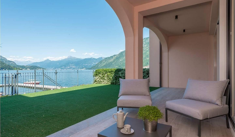 Villa avec jardin et terrasse Lezzeno