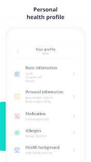 Ada - Your Health Guide app (apk) free download for Android/PC/Windows screenshot