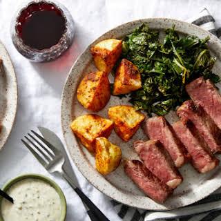 Seared Steak.