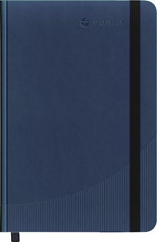 Anteckningsbok A4 linj mörkblå