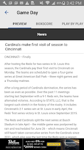 BaseballStL St. Louis Baseball- screenshot thumbnail