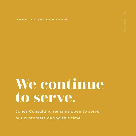 We Continue to Serve - Instagram Post Template