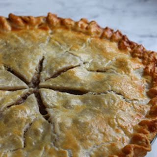 Acadian Christmas Meat Pie