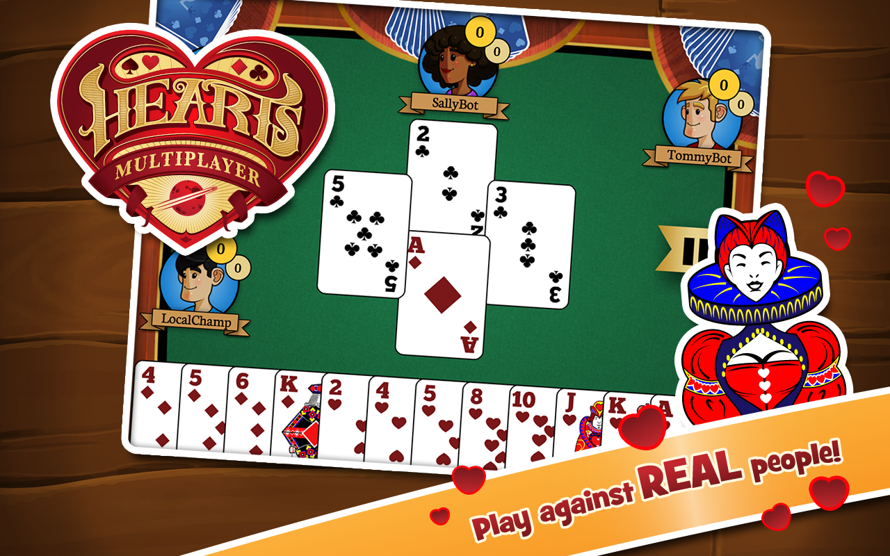 hearts online multiplayer