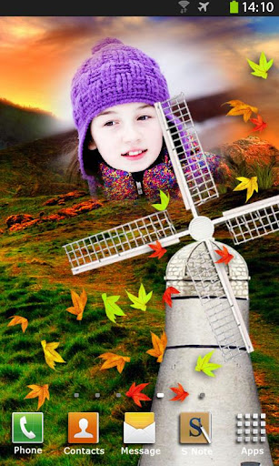 Windmill Animated Photo Frames