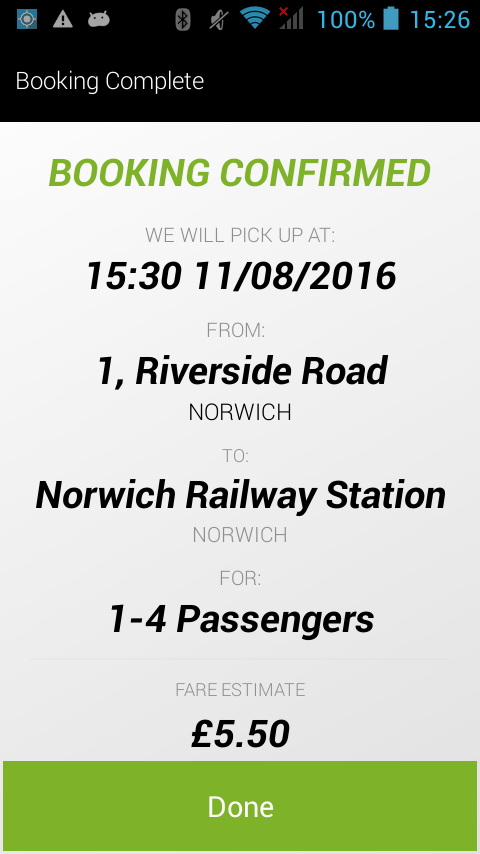 ABC Taxis Norwich- screenshot