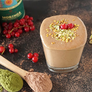 Moringa Chocolate Smoothie