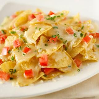 Queso Quesadilla Cheesy Nachos Recipe
