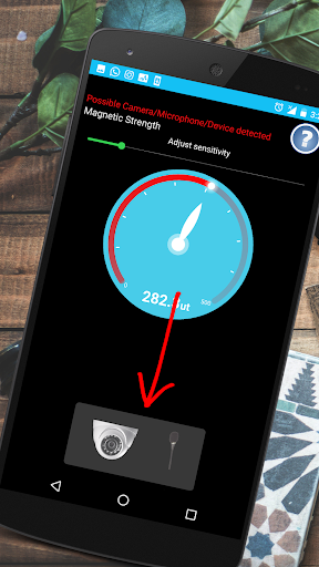 Hidden Device Detector :Bug Hidden Camera Detector 1.1.6 screenshots 1