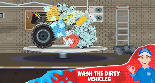 Kids Car Wash Service Station screenshot 4