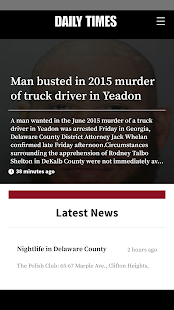 Delaware County Daily Times- screenshot thumbnail