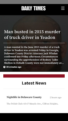 Delaware County Daily Times - screenshot