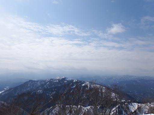 展望地から武奈ヶ嶽