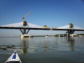 Photo: Épülő híd Vidin előtt