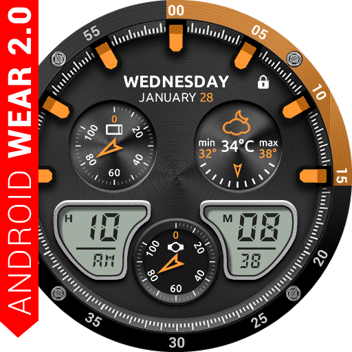 Fury Watch Face Icon