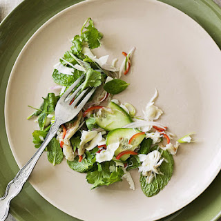 Crab Salad with Coconut and Lime Dressing.