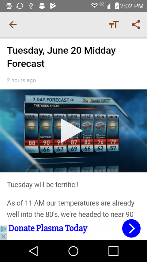 KOLR10 Weather Experts- screenshot