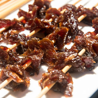 Filipino Beef Jerky Skewers