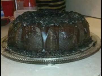 Oreo Cookie Fudge Bundt Cake!