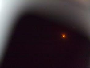 Photo: 09:53 UTC through eclipsegoggles