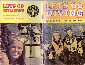 """Photo: """"Lets Go Diving"""" the Diving Bible for the early 60's."""