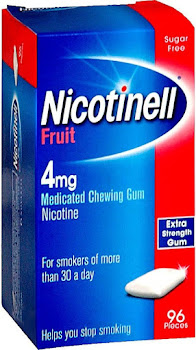 Nicotinell Fruit Medicated Chewing Gum - Extra Strength