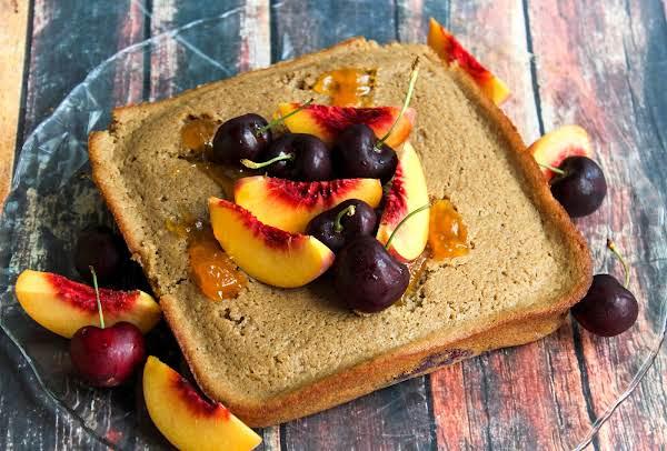 Peach Preserves And Tart Cherry Mash Potato Cake Recipe