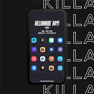 Killa Icons - Adaptive Icon Pack Addy (Patched)