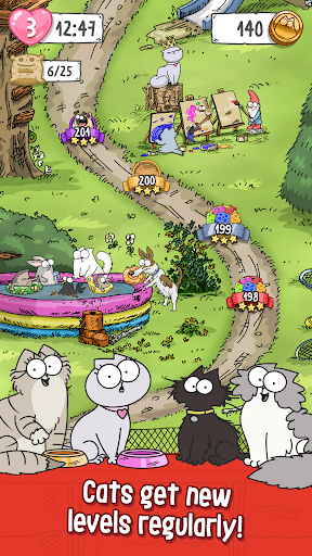 Simonu2019s Cat Crunch Time - Puzzle Adventure! apktram screenshots 2