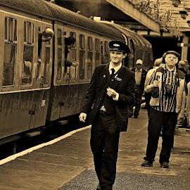 Outstanding by Gordon Simpson - Transportation Railway Tracks