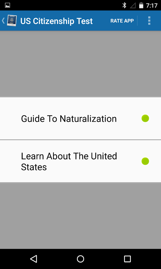 US Citizenship Test Reviewer- screenshot