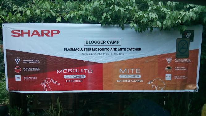 mosquito catcher sharp