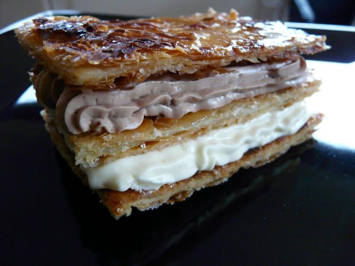 Choco/Orange Millefeuille Recipe