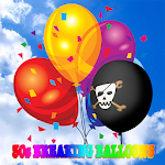 30 seconds breaking balloons Icon