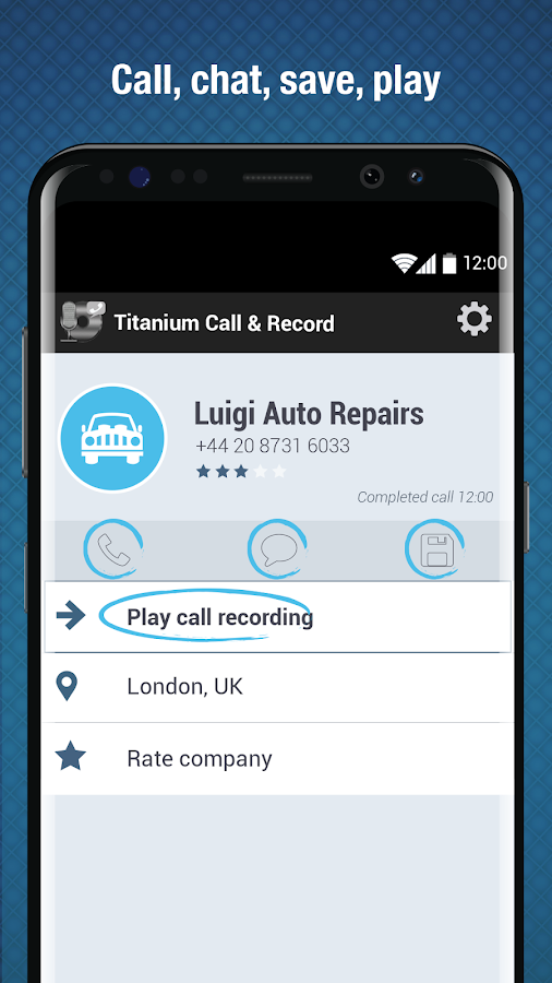 Titanium Call and Record - Android Apps on Google Play