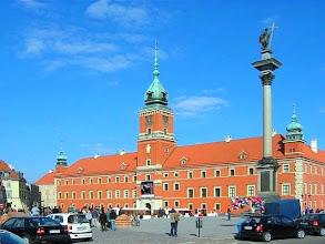 Photo: Poznávání Varšavy - virtuální prohlídka. Královský hrad - znovuvybudován v 70. a 80. letech po totálním zničení v roce 1944.