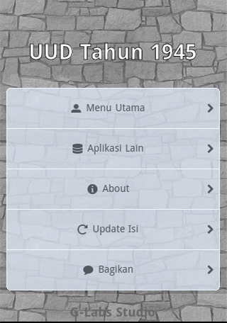 UUD 1945 Offline- screenshot