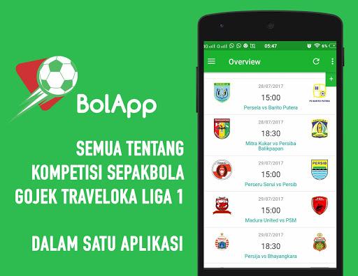 BolApp - Liga Indonesia / Gojek Traveloka Liga 1 2.5 screenshots 1