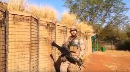 La emotiva felicitación de Año Nuevo de los militares destinados en Mali
