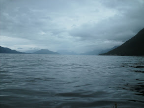 Photo: Looking north up Chilkoot Inlet.