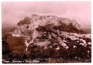 Photo: Capri - Panorama e Monte Solaro 31 - Ediz. S.A.F. - Fotocelere - Torino