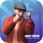 Mad Crime Town Wars Two Islands Icon