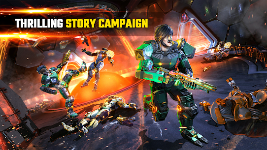 SHADOWGUN LEGENDS MOD APK v1.0.5 (Mod,Enemies Do Not Attack) 3