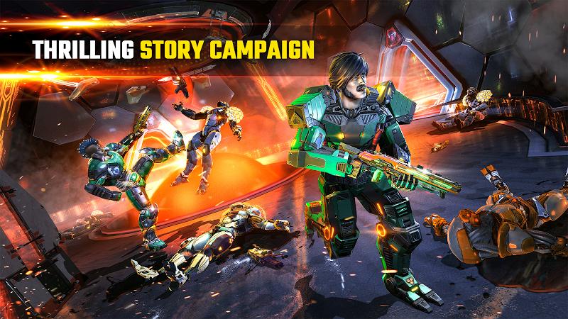 SHADOWGUN LEGENDS - FPS PvP and Coop Shooting Game Screenshot 2