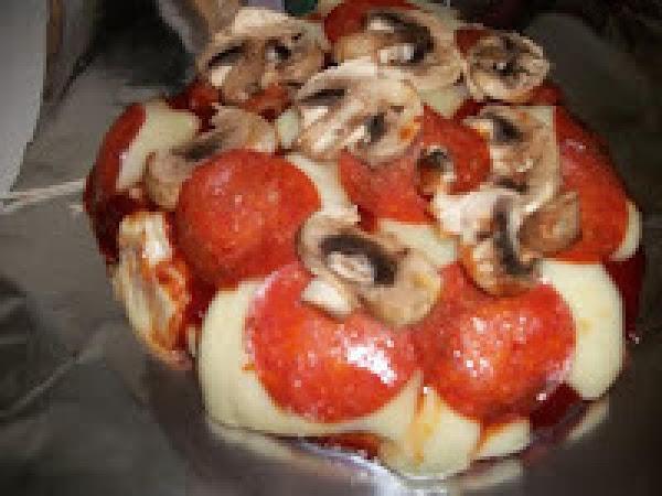 Homemade Pepperoni And Mushroom Pizza Recipe